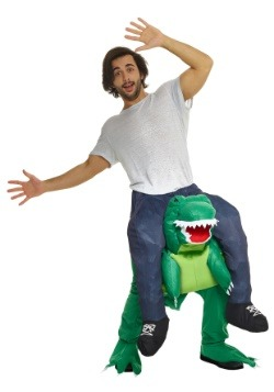 Disfraz de T-Rex de montar para hombre