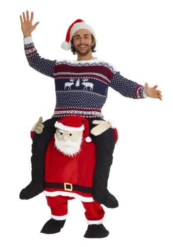 Disfraz de montar de Santa para adulto