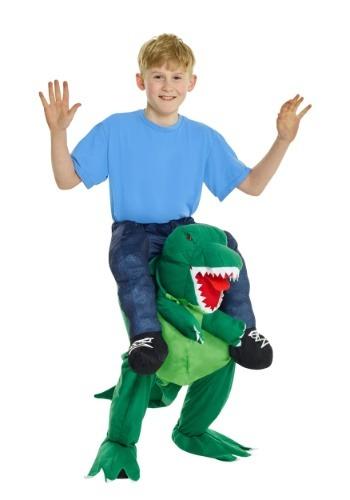 Disfraz de montar T-Rex para niños