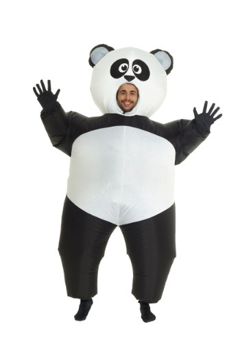 Disfraz inflable de panda para adulto