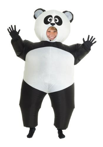 Disfraz de panda inflable infantil
