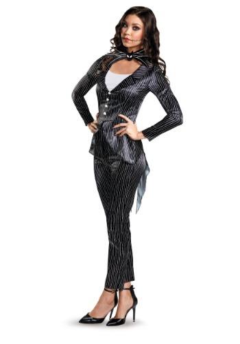 Disfraz de Jack Skellington Deluxe para mujer
