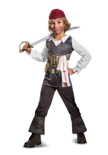 Disfraz clásico del Capitán Jack Sparrow para niño
