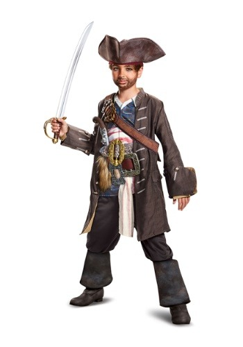 Disfraz del Capitán Jack Sparrow para niño