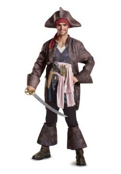 Disfraz de Capitán Jack Sparrow Deluxe para hombre