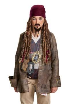 Barba y bigote de Jack Sparrow para niños