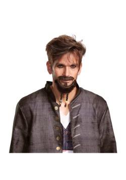 Barba y bigote de Piratas del Caribe para adulto