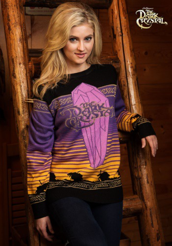 The Dark Crystal Movie Logo Holiday Sweater