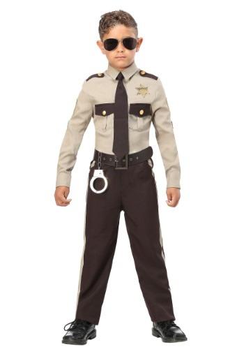Disfraz de comisario para niño