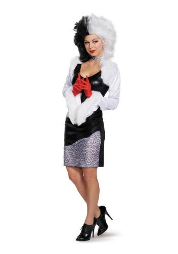 Disfraz de Sassy Cruella para mujer