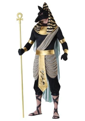 Disfraz de talla grande Anubis para hombre