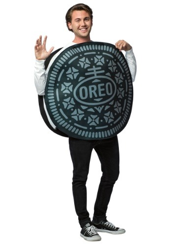 Disfraz de galleta Oreo adulto