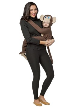 Disfraz de mono abrazable para bebé