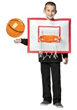 Disfraz infantil con aro de baloncesto