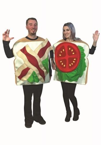 Disfraz de sándwich BLT para parejas adulto