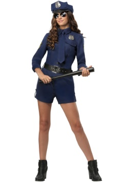 Traje de mujer de oficial de policía