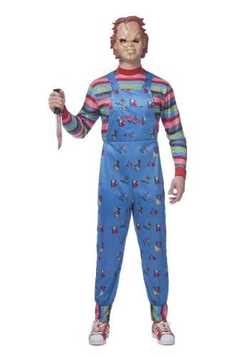 Disfraz de Chucky Plus Size para hombre