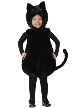 Disfraz de gatito negro de cuerpo de burbuja para niños pequ