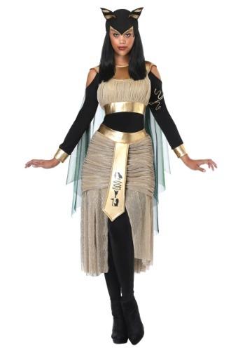 Disfraz de Bastet Diosa egipcia para mujer