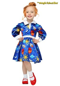 Disfraz de Ms. Frizzle de Magic School Bus niños pequeños