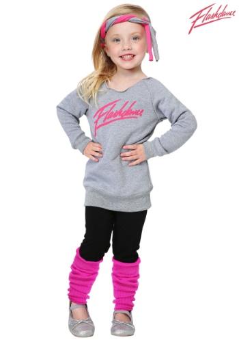 Disfraz de Flashdance para niños pequeños
