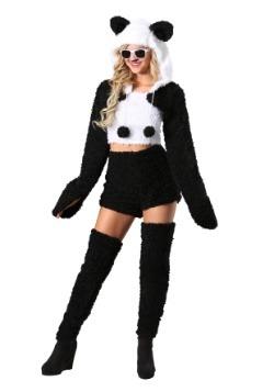 Disfraz de panda preciosa de mujer