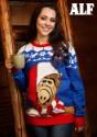 Suéter de Navidad feo de Alf para adulto