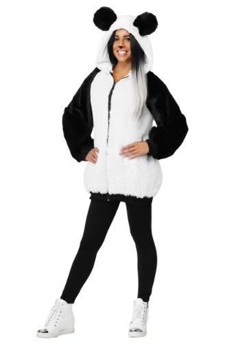 Disfraz de Panda Hoodie para mujer