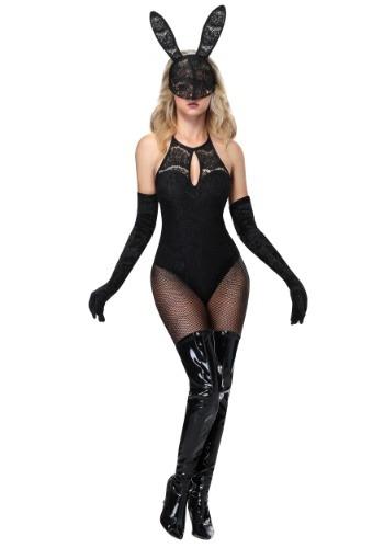 Disfraz de conejito de encaje para mujer