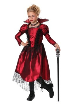 Disfraz clásico de vampiro para niñas