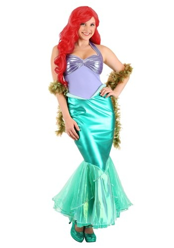 Little Mermaid Ariel Deluxe Disfraz de mujer