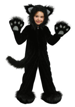 Disfraz de gato negro Premium para niños