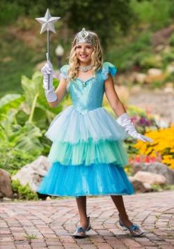 Disfraz de princesa aguamarina para niña