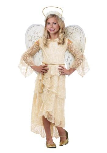 Disfraz de ángel para niñas