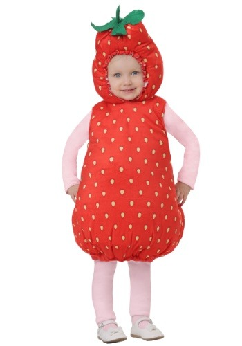 Disfraz de fresa para bebé/niño pequeño