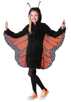 Traje de monarca acogedor para niña