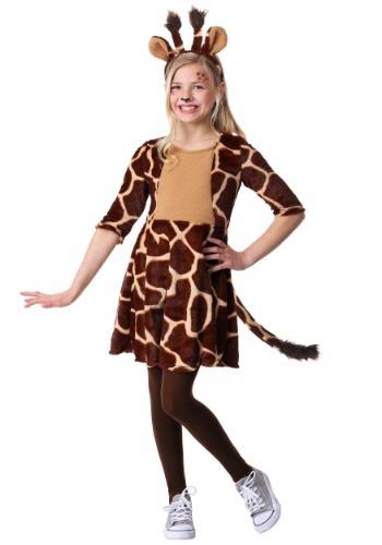 Disfraz de jirafa de niña