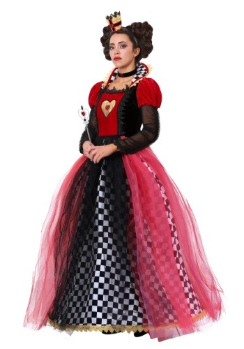Disfraz de Reina de Corazones deslumbrante
