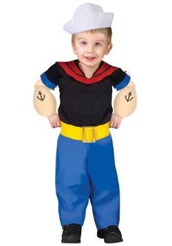 Disfraz de Popeye para niños pequeños