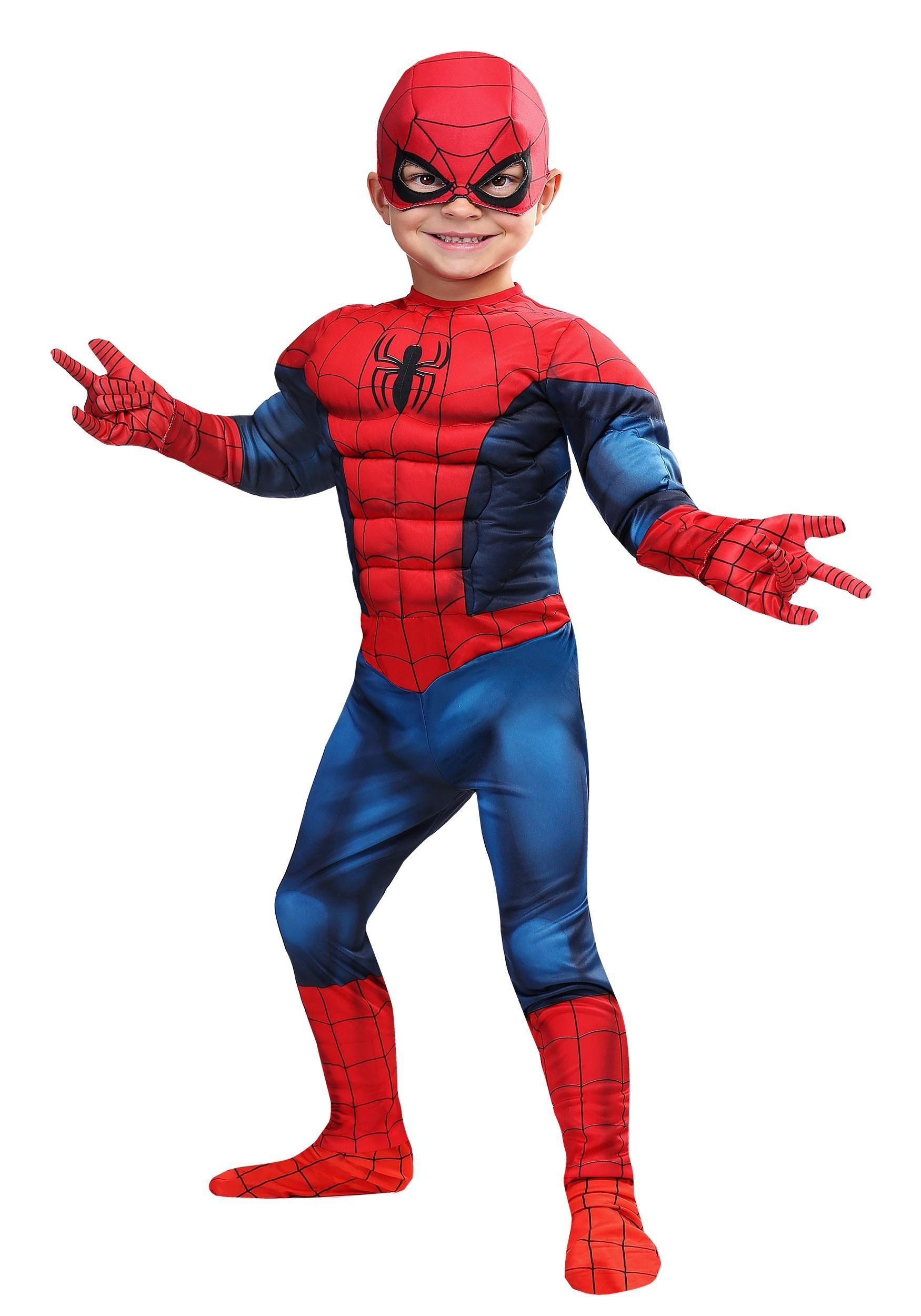 Disfraz De Spider Man De Marvel Para Ni 241 Os Peque 241 Os