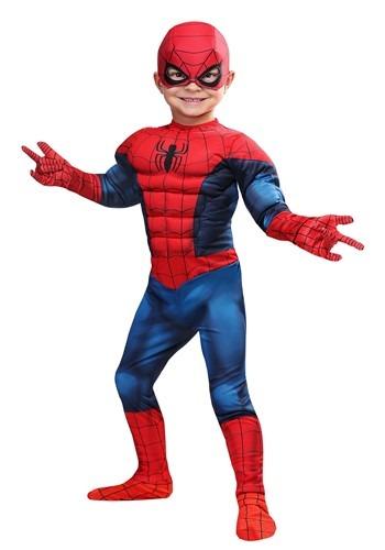 Disfraz de Spider-Man de Marvel para niños pequeños