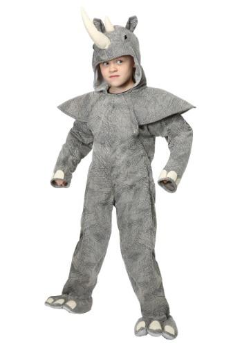 Disfraz de rinoceronte para niños