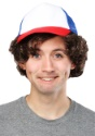 Peluca para adulto y gorra de béisbol Strange Stuff