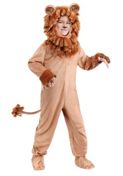 Disfraz de león adorable para niños