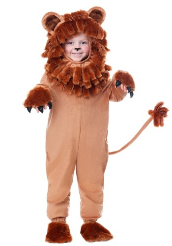 Disfraz de león adorable niño