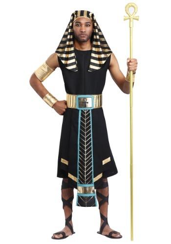 Disfraz de faraón egipcio oscuro para hombre