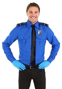 TSA Agent Blue manga larga traje de la camisa