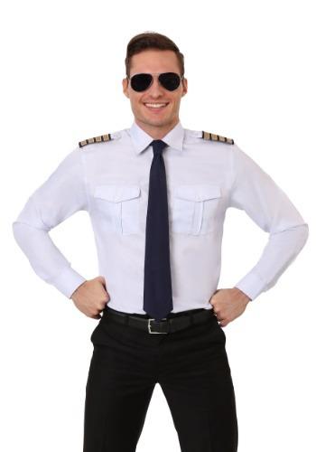Camisa de manga larga de piloto para adulto