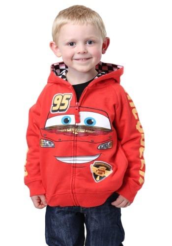Sudadera disfraz de Rayo McQueen de Disney Cars
