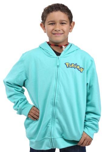 Disfraz con capucha de Bulbasaur de Pokemón para niño